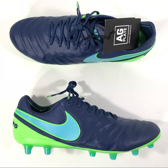 italy nike tiempo legend black and turquoise earrings d079a 805b6 2e535764835